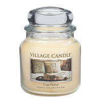 """Ароматическая свеча в стекле Village Candle """"Уютный дом"""". 455 гр/ 105 часов"""