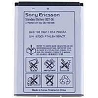 Аккумулятор Sony Ericsson BST-36 (J300, K310, K320, K510, T250i, T280, W200, Z310i, Z550i) (750 mAh)