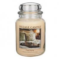 """Ароматическая свеча в стекле Village Candle """"Уютный дом"""". 740 гр/ 170 часов"""