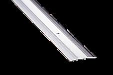 Порожек напольный 3х40х1800 мм 1а дуб белый алюминиевый, фото 2