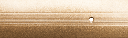 Пороги алюминиевые 3А 0,9 метра золото 23х18мм
