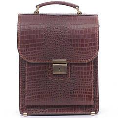 Шкіряна сумка портфель СПБ-2
