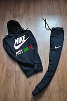 """Мужской темно-синий спортивный костюм Nike цветной принт """""""" В стиле Nike """""""""""