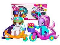 My Little Pony Друзі на скутерах Rarity & Daisy Dreams ( Май Литл Пони Рарити и Дейзи Дримс на скутерах)