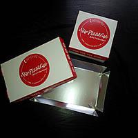 Картонная упаковка с фольгированием