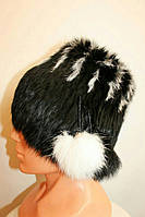 Теплая женская шапка-ушанка 2230
