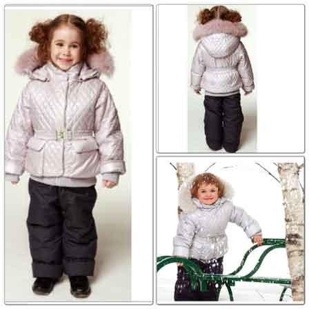 Детские куртки пуховики на зиму оптом