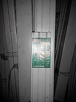 Карниз 1,6 метра двойной трубчатый металлопластиковый, ассортимент цветов, доставка по Украине, фото 3