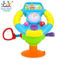 Игрушка Забавный руль Huile Toys 916