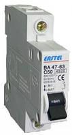 Автоматический выключатель Eastel ВА47-63 (6kA) 10А, 1P, х-ка C