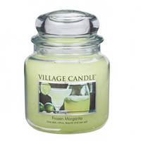 """Ароматическая свеча в стекле Village Candle """"Маргарита со льдом"""". 455 гр/ 105 часов"""
