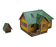 Картонная модель Дачный домик 281 УмБум