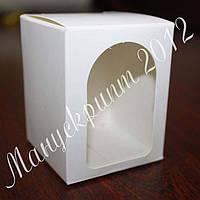 Коробочка для подарков с окном
