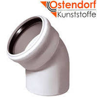 Колено канализационное  Ostendorf  d50