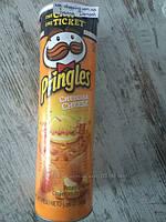 Чипсы PRINGLES вкус Сыра Чеддер