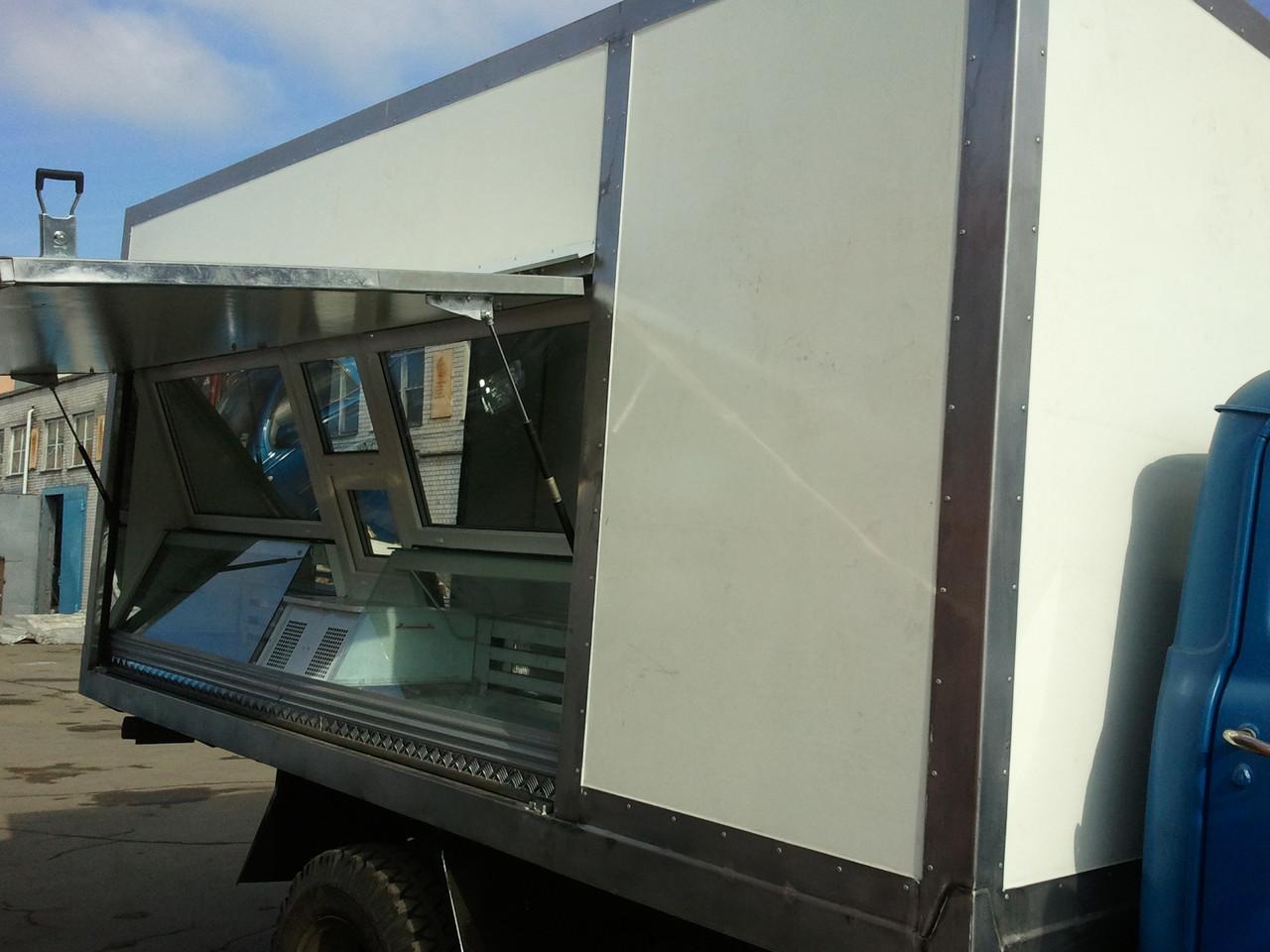 Фургоны для выездной торговли (автолавка)