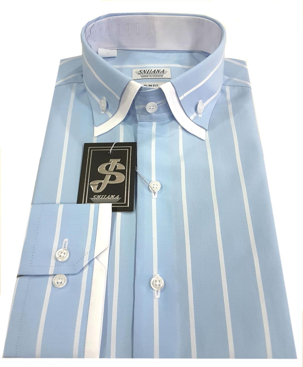 Рубашка мужская приталенная 50-1090 V4