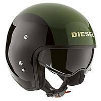 Мотошлем Diesel Hi-Jack черный зеленый S