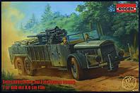 Selbsttahrlafette aut Fahrgestell VOMAG 7or 660 mit 8,8 cm Flak 1/72 RODEN 727