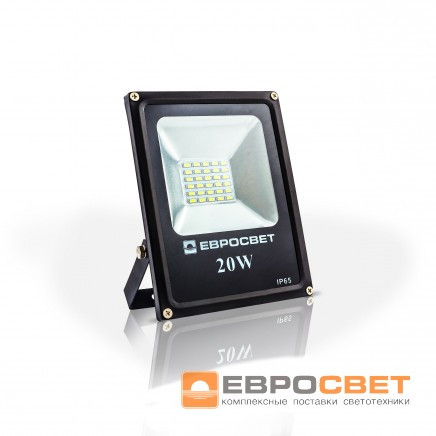 Прожектор EVRO LIGHT EV-20-01 6400K 1400Lm SMD