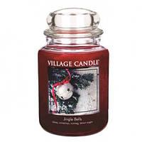 "Ароматическая свеча ""Jingle Bells"" Village Candle 740 гр/ 170 часов"