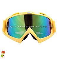 Очки, маска для мотокросса, горнолыжные, кроссовые SNOWPICK, фото 1