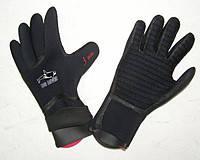 Перчатки для подводной охоты и дайвинга BS Diver Super Dry 5 мм с двойной обтюрацией