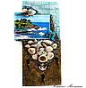 Настенная ключница - Мечты о море Настенный декор прихожей Ручная работа