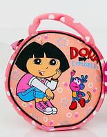 Сумка детская Даша путешественница (Дора) 22х22см