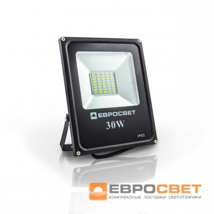 Прожектор EVRO LIGHT EV-30-01 6400K 2100Lm SMD