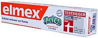 Зубная паста Elmex Junior mit Aminfluorid 6-12 Jahre 75мл.