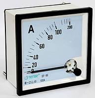 Амперметр прямого включения 100А стрелочный щитовой 96х96 мм цена переменного тока