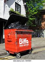 БУ металлический контейнер 1100 литров