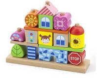 Набор кубиков Город Viga Toys 50043