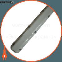OPTIMA Люминесцентный светильник 2х58 с Эл. магнит IP65 (н/к)