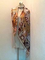 Платок Gucci шелковый прозрачный .