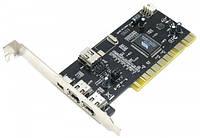 Контроллер PCI 4xFirewire (IEEE 1394) VIA chip Atcom