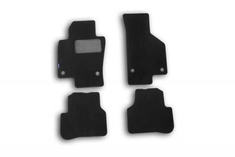 Коврики в салон ворсовые для Volkswagen Passat B7 2011->, сед., 4 шт  NLT.51.34.11.110kh