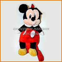 Детская игрушка рюкзак Микки Маус 35 см