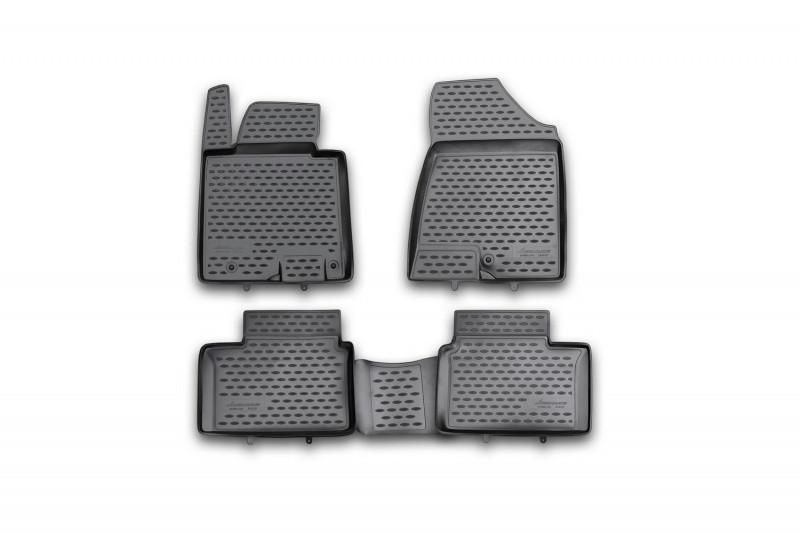 Килимки в салон для Kia Ceed, 2012->, 4 шт поліуретан NLC.25.43.210