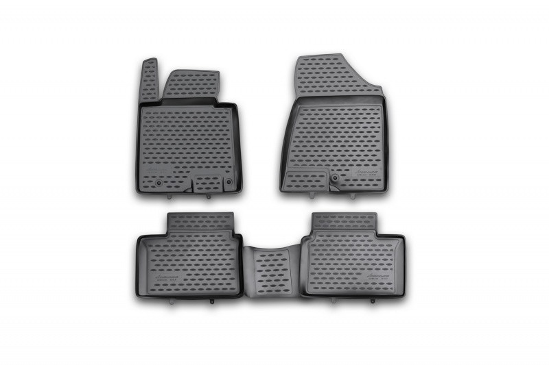 Коврики в салон для Kia Ceed, 2012->, 4 шт полиуретан  NLC.25.43.210