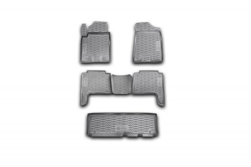 Коврики в салон для Nissan Patrol, 2010->, 5 шт полиуретан  999RMY62MC