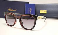 Женские солнцезащитные очки Chopard  6101 бордовый цвет