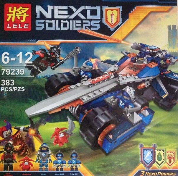 Конструктор Nexo Soldiers 79239 Устрашающий разрушитель Клэя