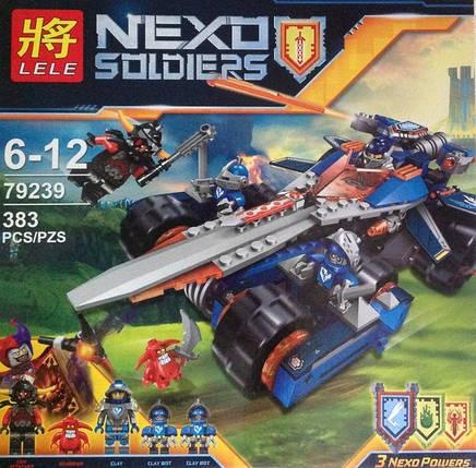Конструктор Nexo Soldiers 79239 Устрашающий разрушитель Клэя, фото 2