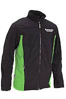 Реглан флис Kawasaki Racing Team черный зеленый L/XL