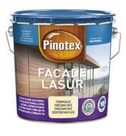 Эластичная лазурь стойкая к УФ Pinotex Facade Lasur 10л (Пинотекс Фасад Лазурь)
