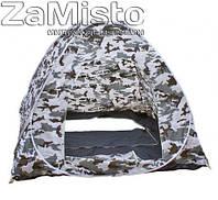 Палатка зимняя с дном 2х2 м (зимний камуфляж)