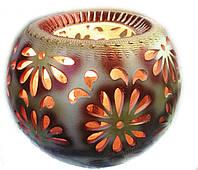 Солевая лампа, светильник, Соляной светильник в керамике