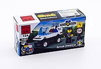 Детский конструктор полицейская машина